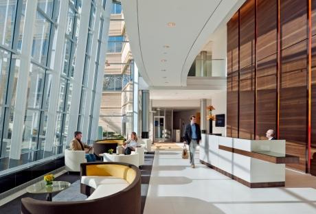 New Balance Lobby Cafe Brighton, MA