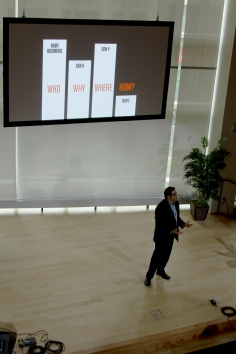 Haril speaking at TEDxFenway 2015
