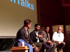Haril speaking at WGBH's Boston Talks