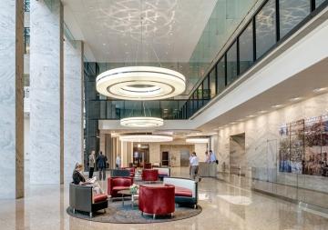 53 State Street Lobby Renovation, Location: Boston MA, Architect: CBT Architects