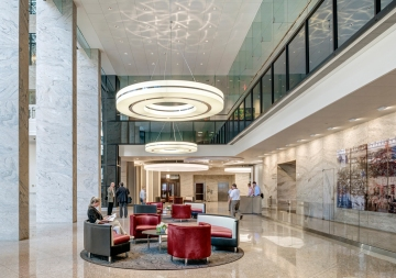 53 State Street Lobby Renovation, Location: Boston MA, Architect: CBT Architects